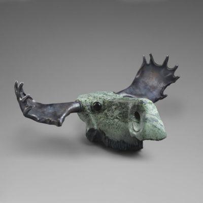 """""""Лось"""" – загадочная скульптура хозяина леса, оглядывающего тишину раннего утра"""