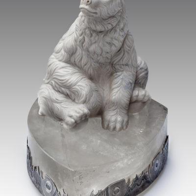 Белый медведь из кахолонга