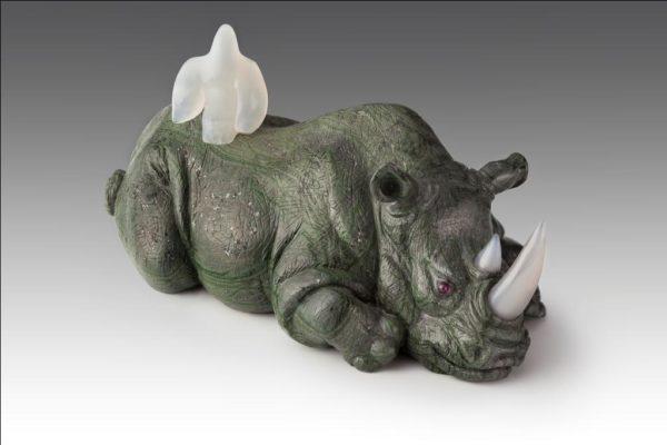 Носорог пятнистый