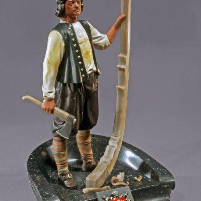 Петр I плотник