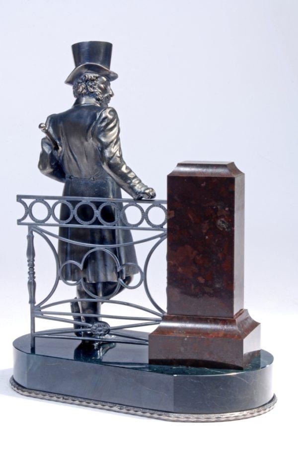 Александр Пушкин (серебро)