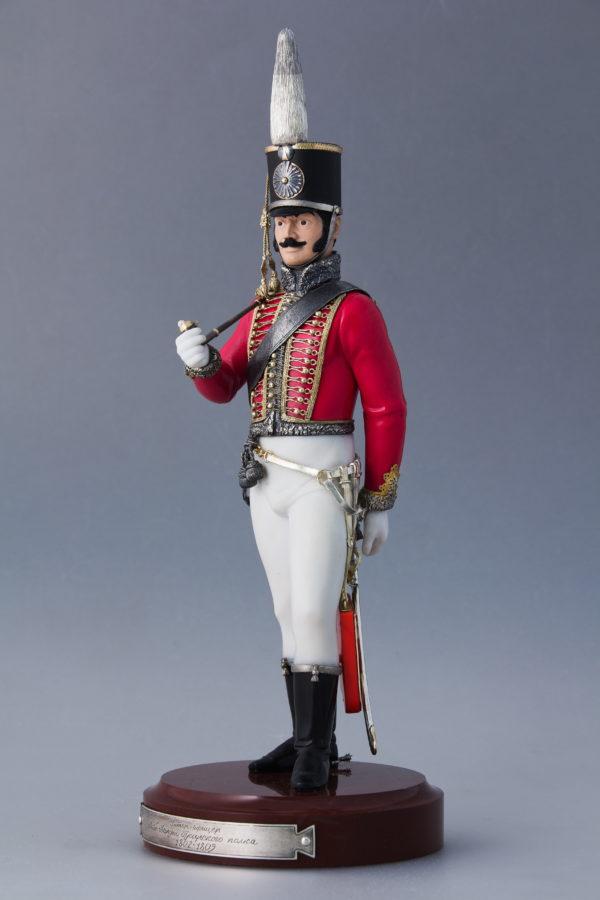 Унтер-офицер Лейб-гвардии Гусарского полка 1802-1809