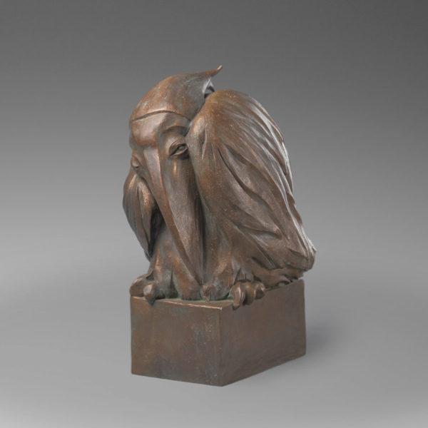 Автопортрет бронзовая скульптура