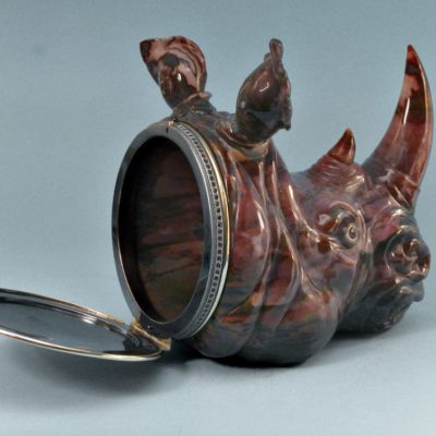 Носорог-шкатулка
