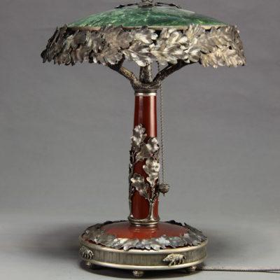Лампа из яшмы