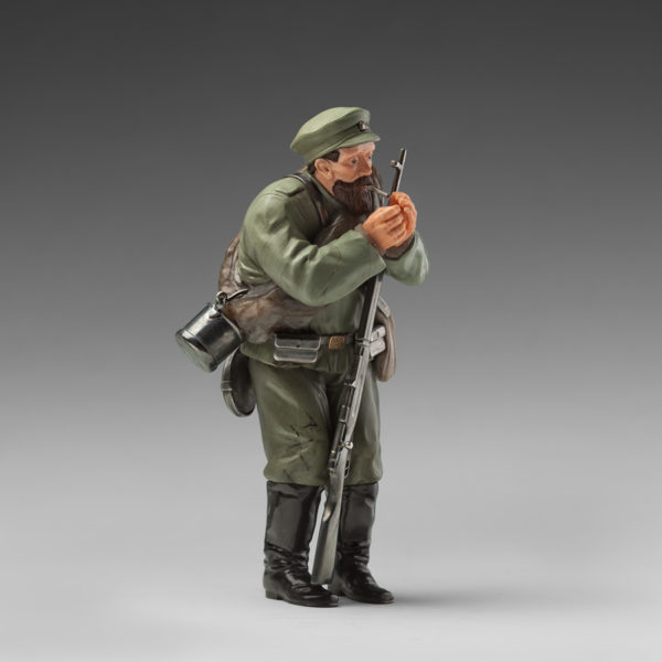 Солдат запасного полка (реплика Фаберже)
