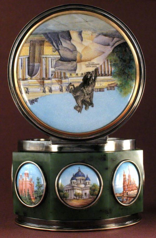 Шкатулка Виды Санкт-Петербурга