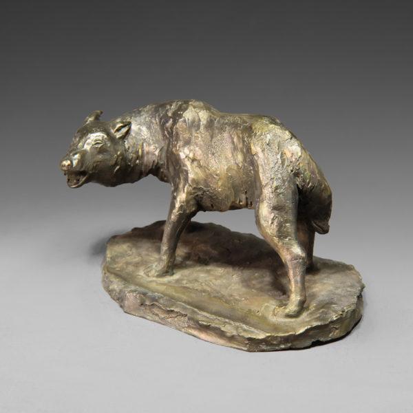 Волк (подставка под телефон)