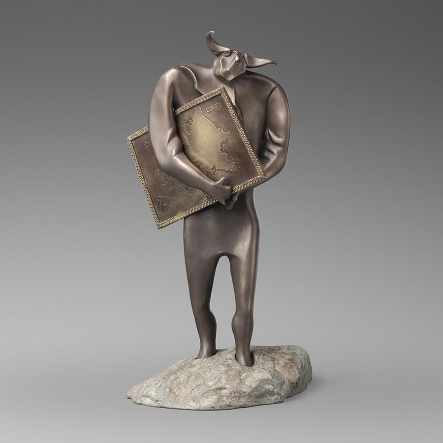 Похищение Европы бронзовая скульптура